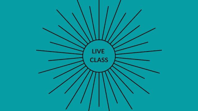 Live Class July 18, 2020
