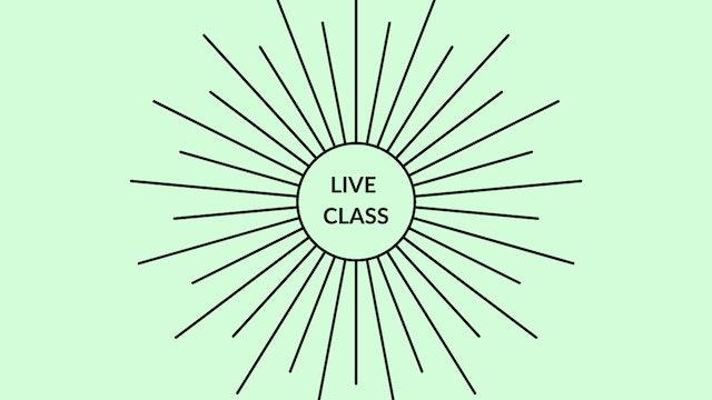 Live Class September 5, 2020