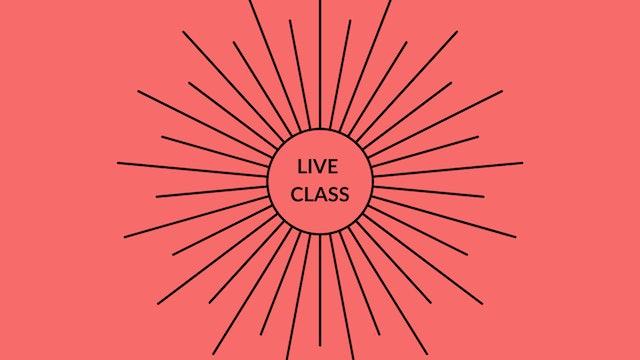 Live Class August 15, 2020