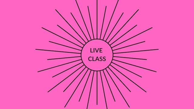 Live Class Apr 18, 2020