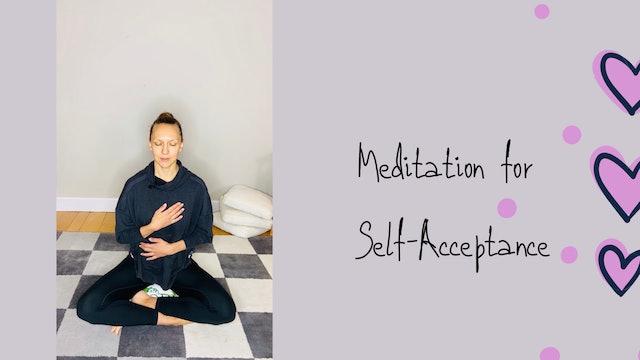 Meditation for Self-Acceptance