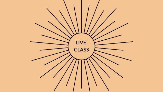 Live Class August 22, 2020