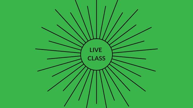 Live Class July 11, 2020
