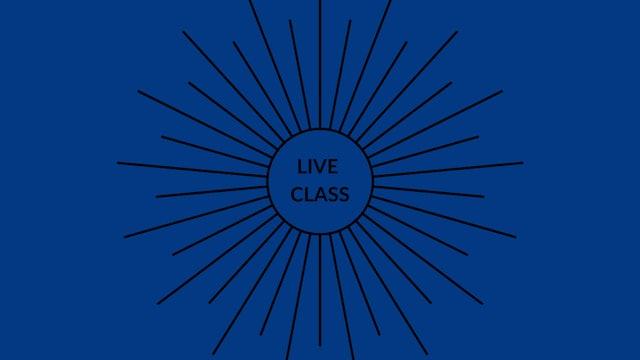 Live Class July 25, 2020