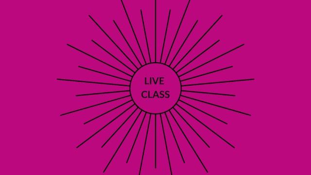 Live Class June 13, 2020