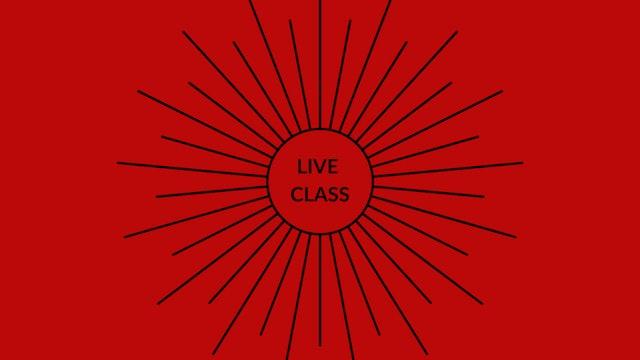 Live Class June 20, 2020