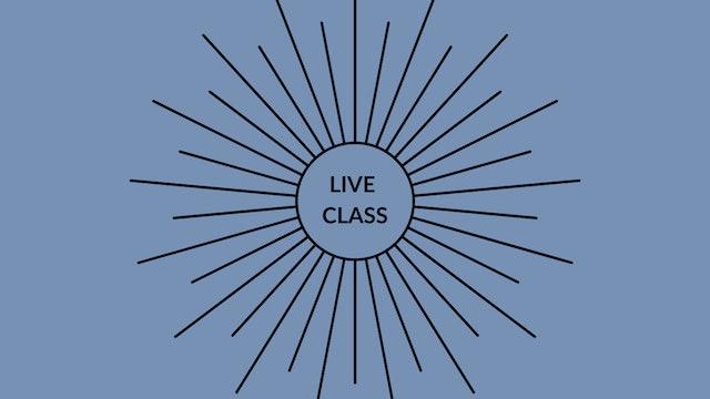 Live Class September 19, 2020