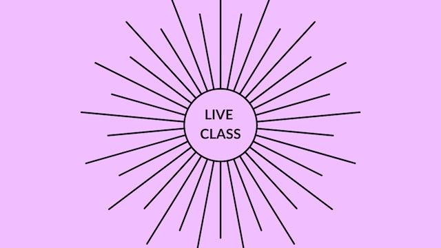 Live Class August 1, 2020