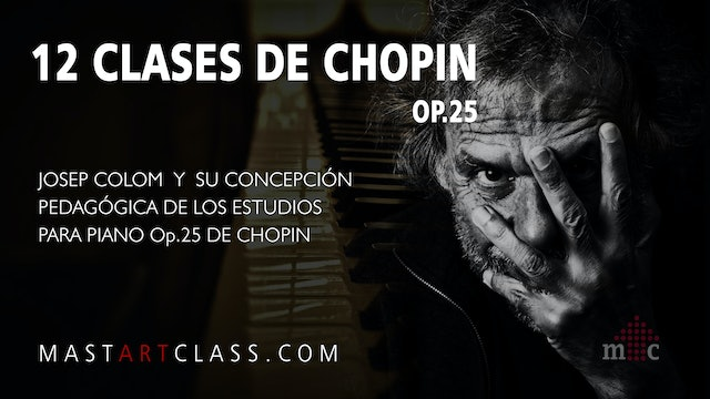 12 LESSONS OF CHOPIN OP.25