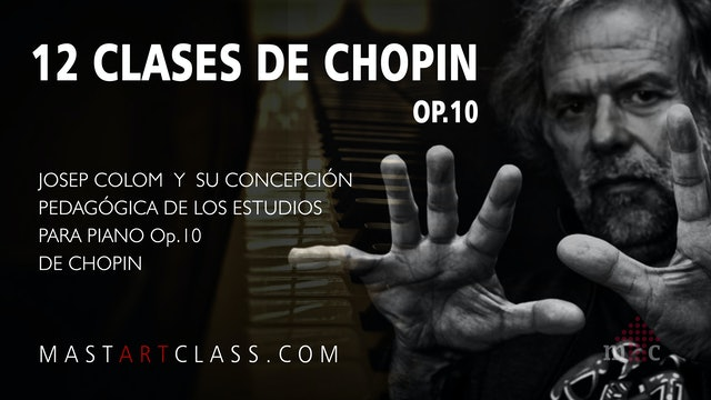 12 LESSONS OF CHOPIN OP.10