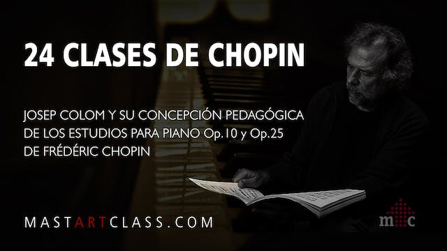 24 LESSONS OF CHOPIN