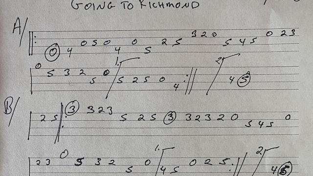 Mandolin #9 Going to Richmond