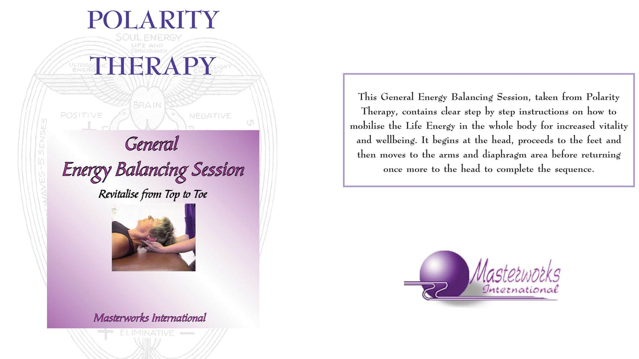 The General Energy Balancing session