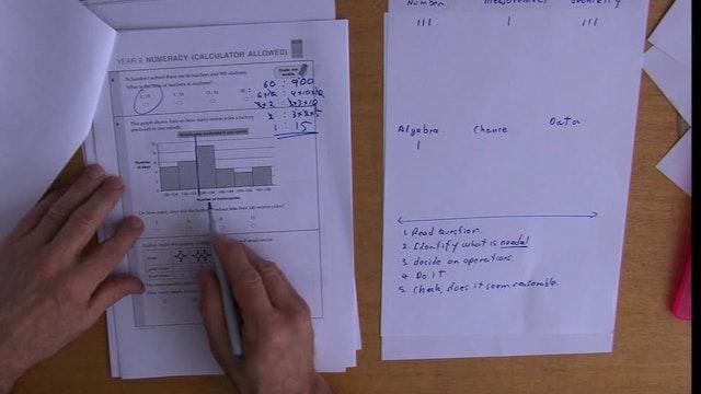 R # YEAR 9 NAPLAN SAMPLE TEST