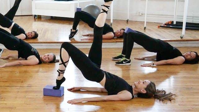 Ballerina Bum Class 13 (Optional ankle & hand wts!)