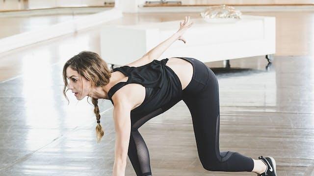 Ballerina Fight Club HIIT Workout Class 2
