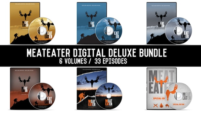 MeatEater Deluxe Volumes 1-5 + Special Edition Off-Cuts