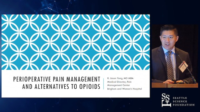 Perioperative Pain Management and Alternatives to Opioids
