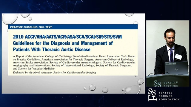 Natural History of Aortic Aneurysms: ACC/AHA Guidelines