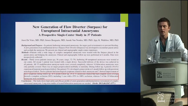 Flow Diversion with Stents