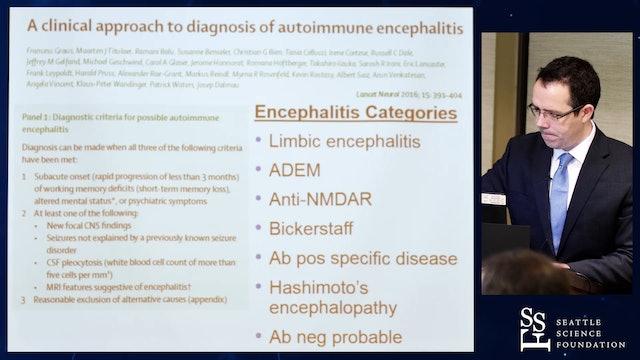 Clinical Pearls in Autoimmune Encephalopathy - Eoin Flanagan