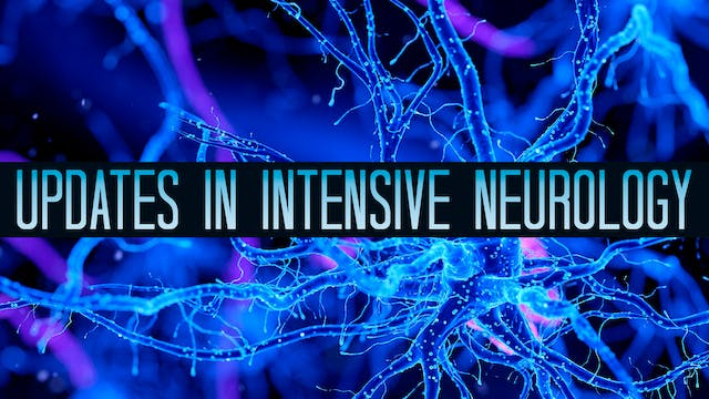 Intensive Update in Neurology