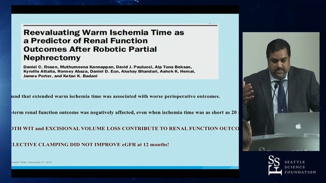 Reducing Warm Ischemia Time During Ro...