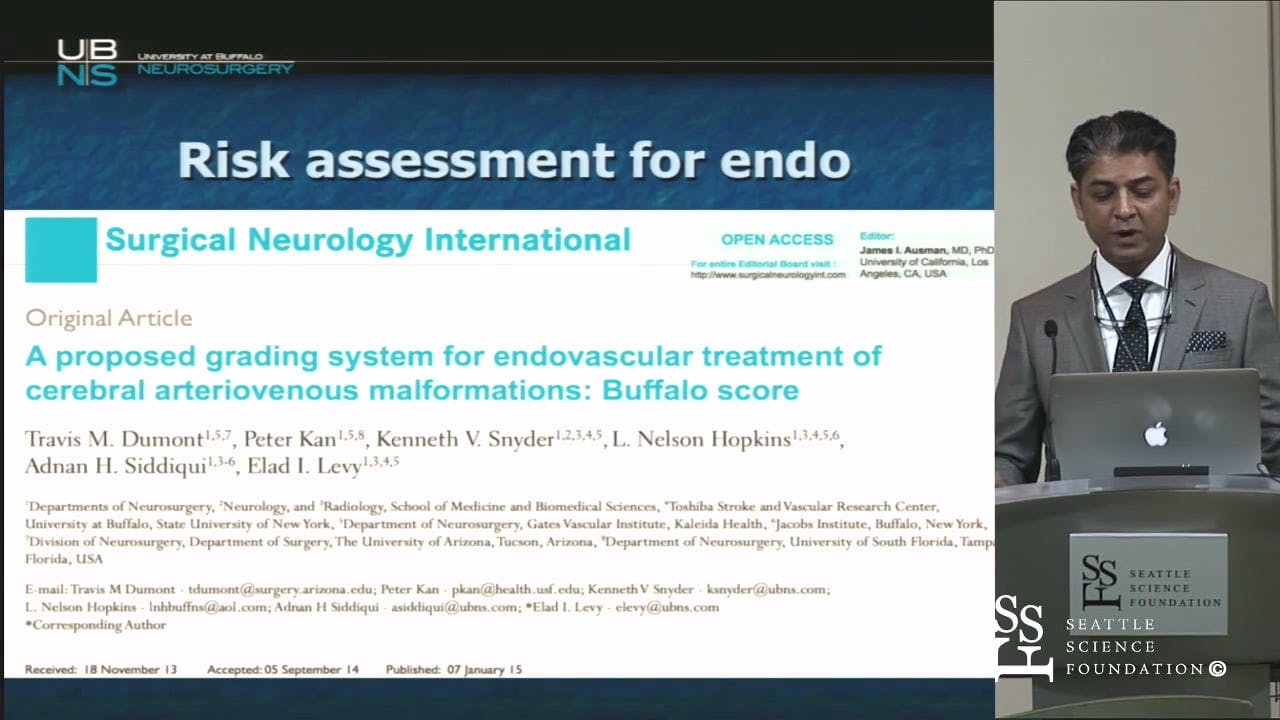 Expectations & Limitations of Embolization for AVM - Cerebrovascular