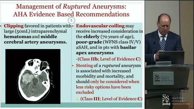 Decision Making Aneurysm Surgery