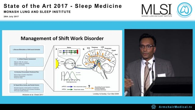 Circadian timing in shift work and mood regulation Dr Shantha Rajaratnam