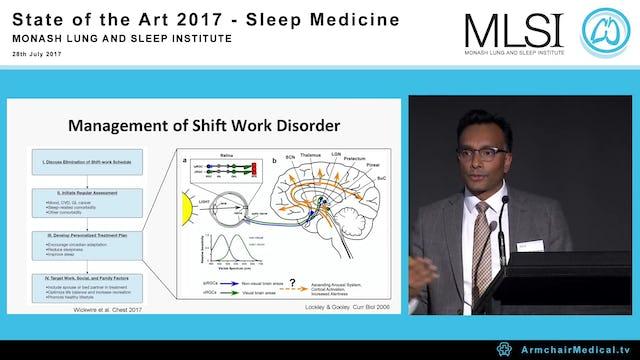 Circadian timing in shift work and mood regulation Dr Shantha Rajaratnam