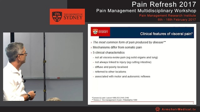 Visceral pain Dr Paul Wrigley