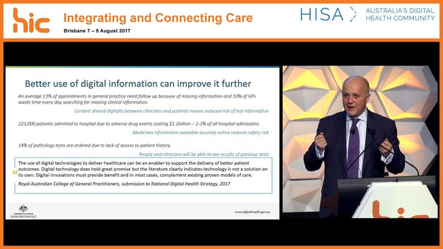 Driving the national digital health a...