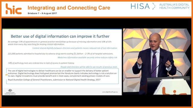 Driving the national digital health agenda Tim Kelsey