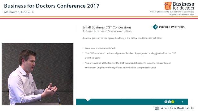 Small Business Capital Gains Tax (CGT) Concessions Scott Treatt