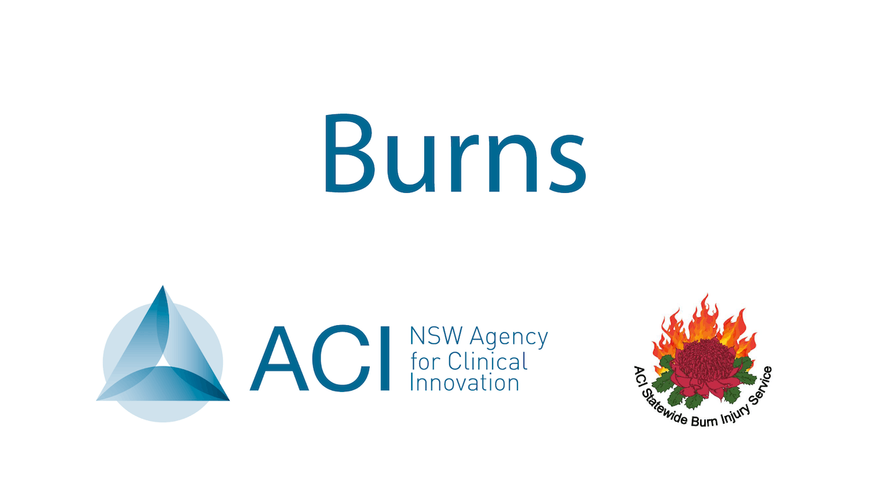 Agency for Clinical Innovation - Burns
