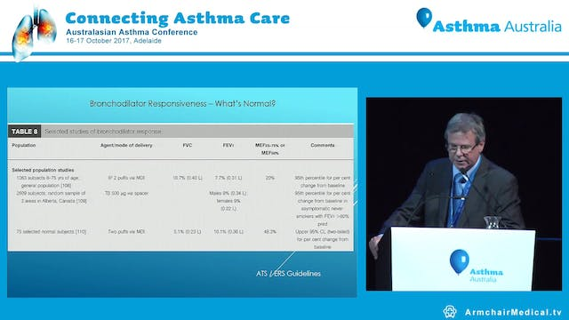 Mis-Missed diagnosis of asthma Prof Paul Reynolds