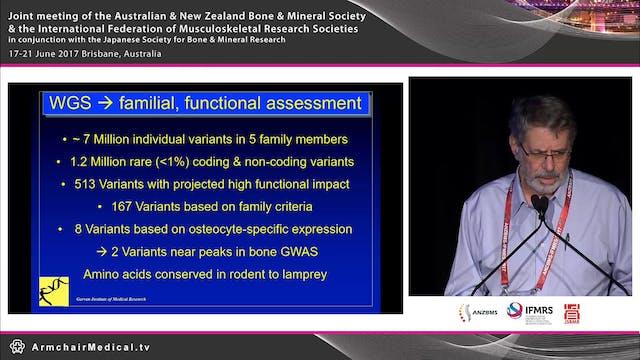 Identification of anabolic bone genes...