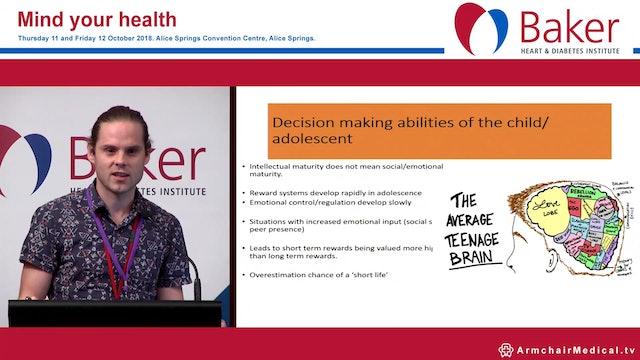 Mental health burden of T2DM on children and adolescence Dr James Dowler