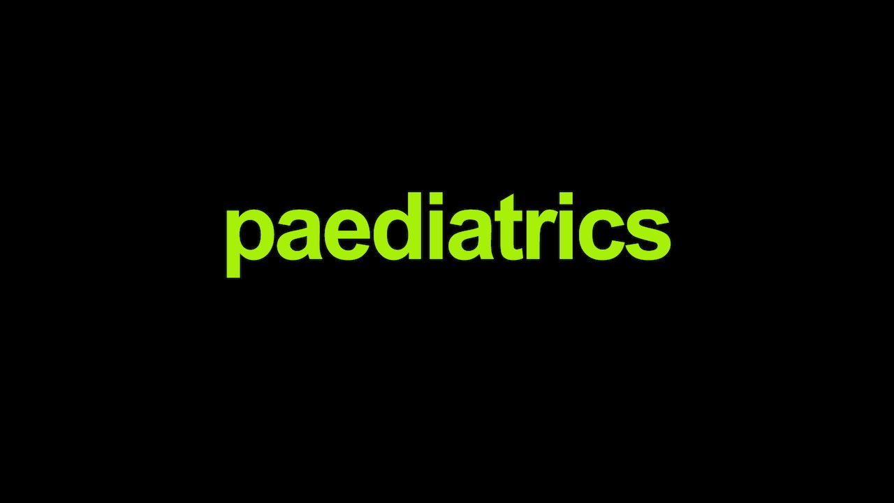 Paediatric lectures for Australian General Practitioners