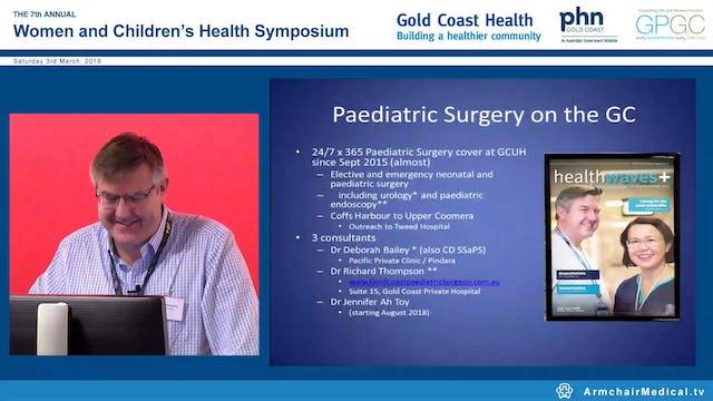 Paediatric Surgical bits & bobs Dr Richard Thompson
