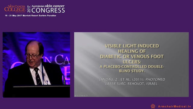 Light therapy and wound healing Dr Phil Hayden