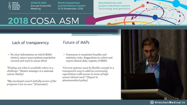 Medicines Access Programs to cancer medicines in Australia and New Zealand - Piyush Grover