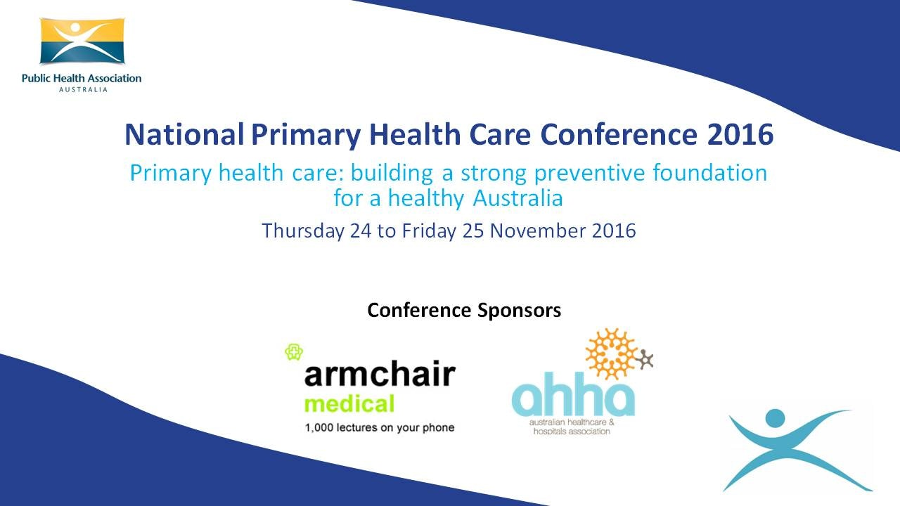 National Primary Health Care Conference Blurred