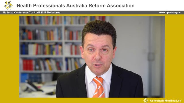 Welcome and opening remarks Nick Xenophon