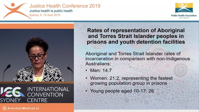 Aboriginal community control and justice health Donnella Mills