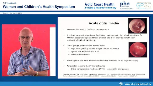 Which antibiotic when in children? Prof Keith Grimwood