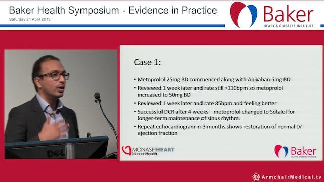 Atrial Fibrillation Case Studies Dr Nitesh Nerlekar