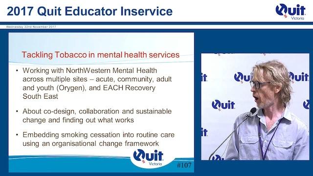 Tackling Tobacco and mental health Ke...
