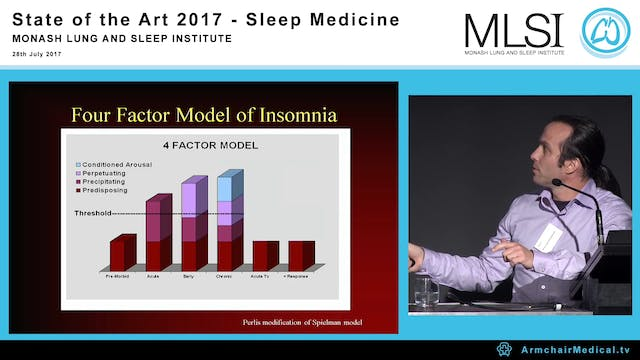 CBT for Insomnia Prof Sean Drummond